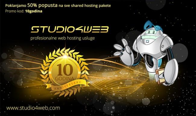 10 Godina Studio4web