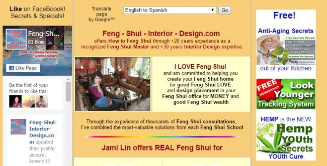 Primjer web stranice s nerelevantnim i prenatrpanim sadržajem
