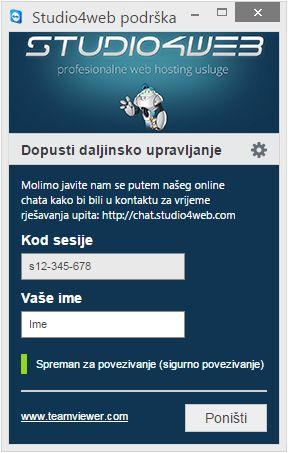 Studio4web - Teamviewer QuickSupport